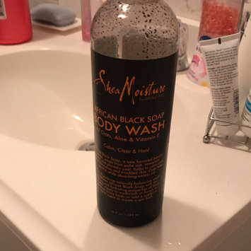 SheaMoisture African Black Soap Body Wash uploaded by Sarquitha G.