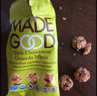 Made Good, Granola Bar, Organic Chocolate Chip, Pack of 6, Size - 6/5 OZ, Quantity - 1 Case [] uploaded by Kate V.