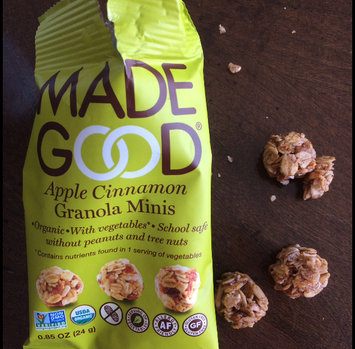 Photo of Made Good, Granola Bar, Organic Chocolate Chip, Pack of 6, Size - 6/5 OZ, Quantity - 1 Case [] uploaded by Kate V.