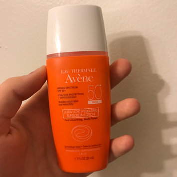 Photo of Avène Hydrating Sunscreen Lotion SPF 50+ (Face & Body) uploaded by Mikaela K.