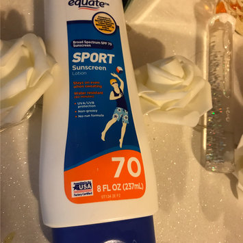 Equate Sport Continuous Spray Sunscreen, SPF 70+, 6 fl oz uploaded by Adriana G.
