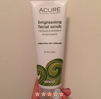 Photo of Acure Organics Brightening Facial Scrub uploaded by Esther M.