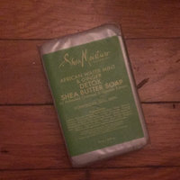 SheaMoisture African Water Mint and Ginger Detox Shea Butter Soap uploaded by Dajah J.