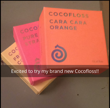 Photo of Cocolab Cocofloss 3-Pack (Orange) uploaded by Jordan E.