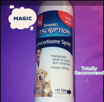 Sergeant's Vetscription Hydrocortisone Spray for Dogs and Cats uploaded by Kiana M.