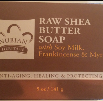Photo of Bar Soap Raw Shea Butter 5 Oz By Nubian Heritage uploaded by Abigail T.