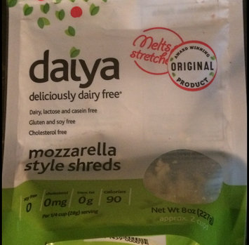 Daiya Deliciously Dairy Free Mozzarella Style Shreds uploaded by Abigail T.