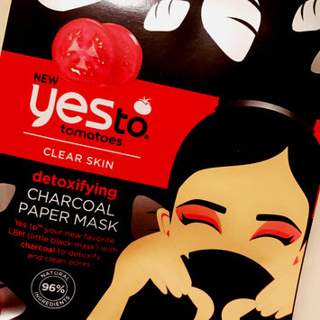 Yes to Tomatoes Paper Mask, Single Pack, Charcoal, 1 ea uploaded by Brooke C.