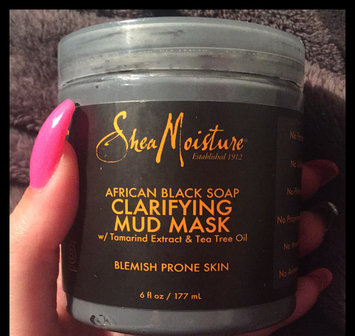 SheaMoisture African Black Soap Clarifying Mud Mask uploaded by Andeo N.