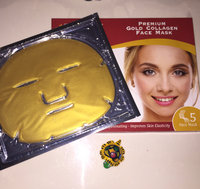 24K Premium Gold Collagen Beauty Face Mask for Anti Aging 10X Absorption for Professional Skin Care uploaded by Lisa L.