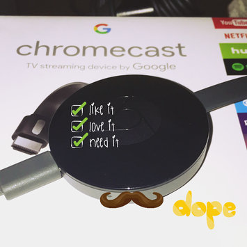 Chromecast uploaded by Mae M.