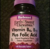 Bluebonnet Earth Sweet Vitamin B-12 5000 mcg Chewable Tablets, Raspberry, 60 Count uploaded by Abigail T.