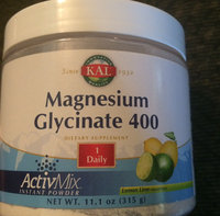 Magnesium Glycinate 400 ActiMix Unflavored Kal 11.1 oz Powder uploaded by Abigail T.