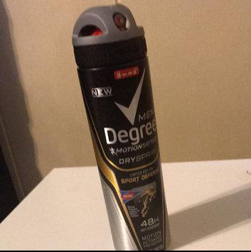 Degree Men Dry Spray Antiperspirant, Sport Defense, 3.8 oz uploaded by Travis C.