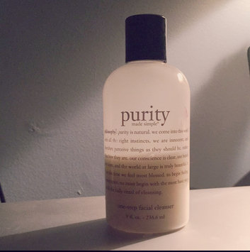 philosophy purity made simple one-step facial cleanser uploaded by Nicole M.