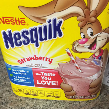 Photo of Nesquik® Strawberry Flavor Powder uploaded by Maricela S.