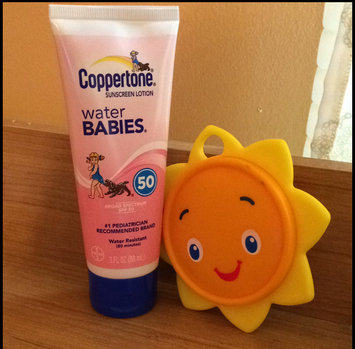 Photo of Coppertone Water Babies Pure & Simple SPF 50 Sunscreen Lotion uploaded by Kiana D.