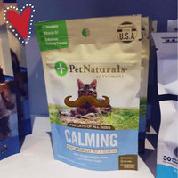 Pet Naturals of Vermont Feline Calming Behavior Support Chews uploaded by Sisto A.