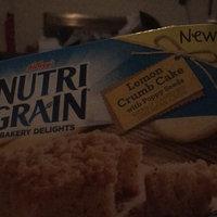 Nutri Grain® Bakery Delights Lemon Crumb Cake with Poppy Seeds 5-1.41 oz. Bars uploaded by Marjorie S.