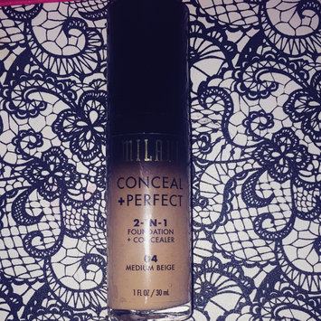 Milani Conceal + Perfect 2-in-1 Foundation + Concealer uploaded by Janina ❤.