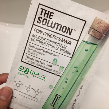 Photo of The Face Shop - The Solution Mask Sheet 1pc (10 types) Pore Care uploaded by Michelle A.