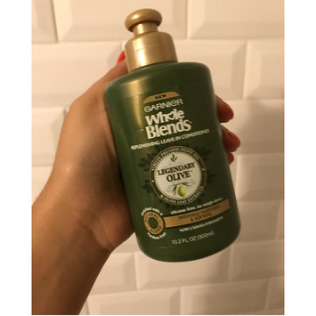 Photo of Garnier Whole Blends™ Replenishing Leave-in Conditioner with Virgin Pressed Olive Oil & Olive Leaf Extracts uploaded by Jadiena D.