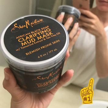 SheaMoisture African Black Soap Clarifying Mud Mask uploaded by Gabriela C.