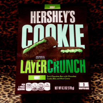 Photo of Hershey's Cookie Layer Crunch Bar Mint uploaded by Bobbi C.