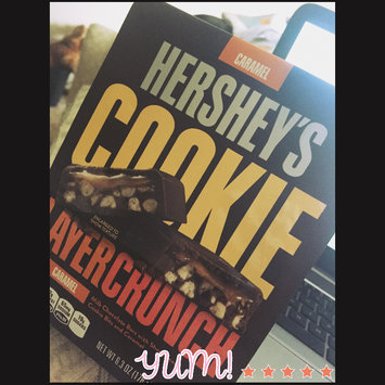 Photo of Hershey's Caramel Cookie Layer Crunch Chocolate Bars 6.3 oz. Bag uploaded by Chrysten T.