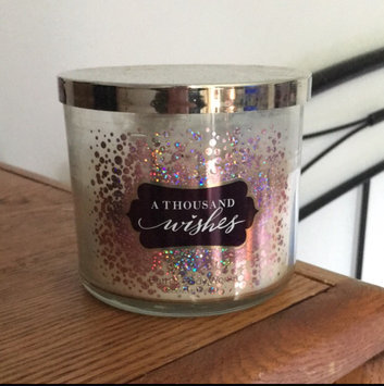 Photo of Bath & Body Works® A Thousand Wishes 3-Wick Candle uploaded by Christine P.