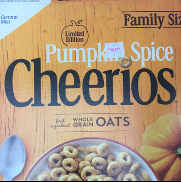 Photo uploaded to Cheerios Pumpkin Spice Cereal by Gabby E.