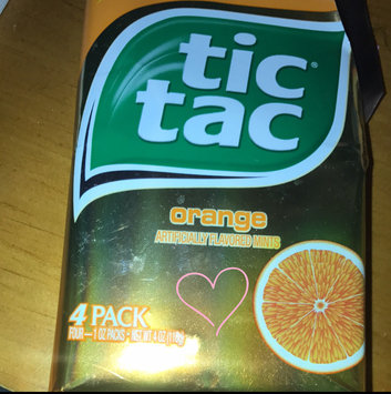 Tic Tac Mints Orange uploaded by Nayeli P.