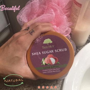 Photo of Tree Hut Lychee & Plum Shea Sugar Scrub uploaded by Davia G.