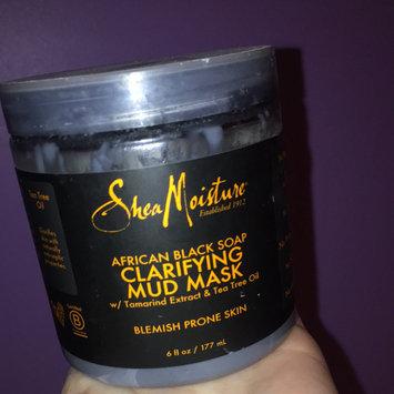 SheaMoisture African Black Soap Clarifying Mud Mask uploaded by Aline B.