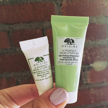 Origins A Perfect World SPF 25 Age-Defense Moisturizer with White Tea uploaded by Carly W.