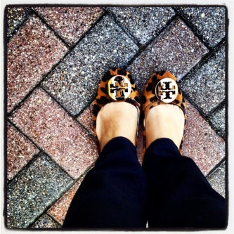 Photo of Tory Burch Flat Shoes uploaded by Chris W.