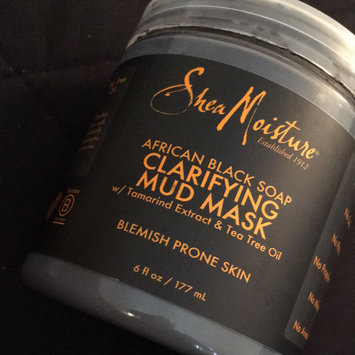 SheaMoisture African Black Soap Clarifying Mud Mask uploaded by Charnae C.