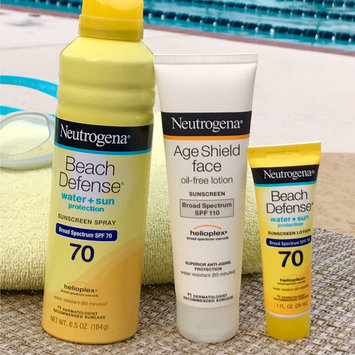 Photo of Neutrogena® Beach Defense® Water + Sun Protection Sunscreen Spray Broad Spectrum SPF 70 uploaded by Amere G.