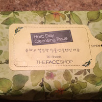 The Face Shop Herb Day Cleansing Tissue Handy Pack uploaded by Elysia B.