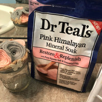 Dr Teal's® Restore & Replenish Pure Epsom Salt & Essential Oils Pink Himalayan Mineral Soak uploaded by Marcie M.