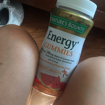 Nature's Bounty® Energy Gummies uploaded by Kristin S.