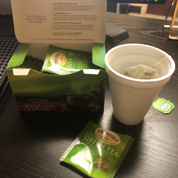 Photo of TWININGS® OF London Green Tea Bags uploaded by Nora G.