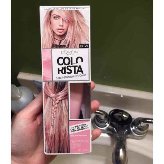 L'Oréal Paris Colorista Semi-Permanent Hair Color for Light Blonde or Bleached Hair uploaded by Aleksandra M.