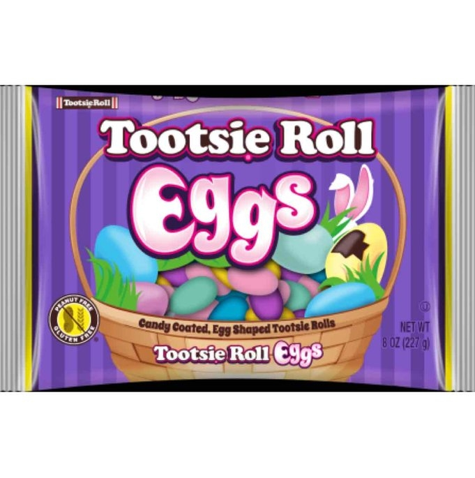 Tootsie Roll Easter Eggs uploaded by Thanh Huyen N.