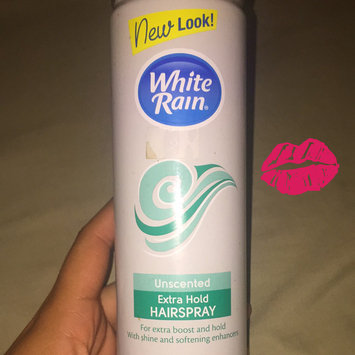 White Rain® Unscented Extra Hold Hair Spray 7 oz. Aerosol Can uploaded by Yerdi B.