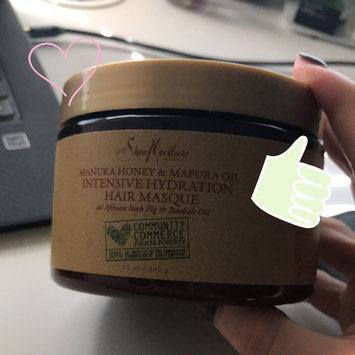 SheaMoisture Manuka Honey & Mafura Oil Intensive Hydration Hair Masque uploaded by Elena F.