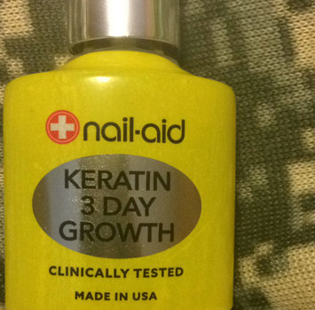 NAIL AID Nail-Aid Keratin 3-Day Growth, 0.55 fl oz uploaded by Chrimson E.