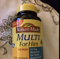 Nature Made Multi for Him 300 CT Multivitamin Dietary Supplement uploaded by Maria De Jesus B.