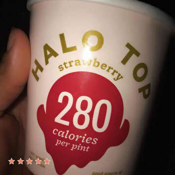 Photo of Halo Top Strawberry Ice Cream uploaded by Ashley S.