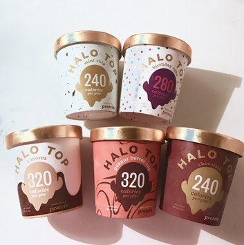 Halo Top Strawberry Ice Cream uploaded by Kamieo F.